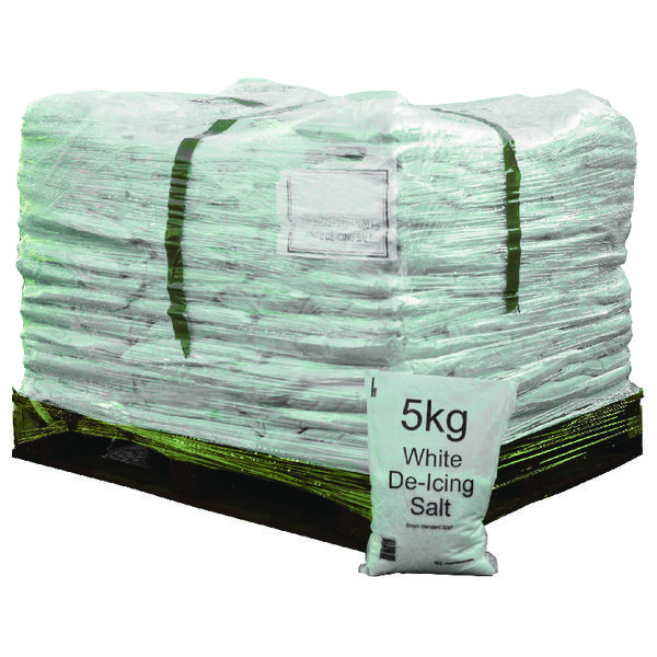 Salt Bag 5kg Pallet of 200 Bags (5kg per bag, Complies to BS 3247) 314263