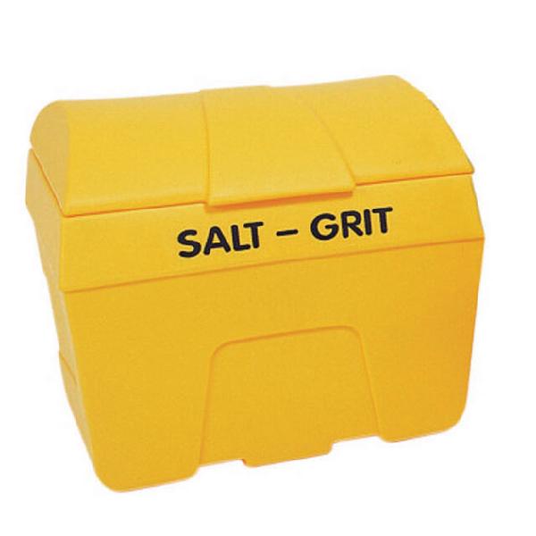 Yellow Winter Salt and Grit Bin 200 Litre No Hopper 317055