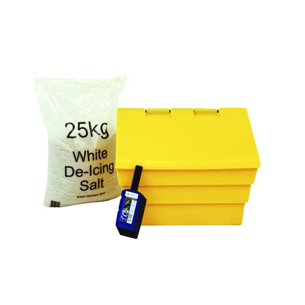 50 Litre Grit Bin and 25kg Salt Kit 389115