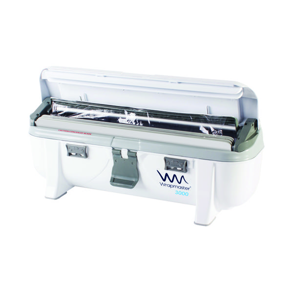 Wrapmaster 3000 Dispenser (Accepts refills up to 30cm in width, dispenses foil or cling film) 63M98