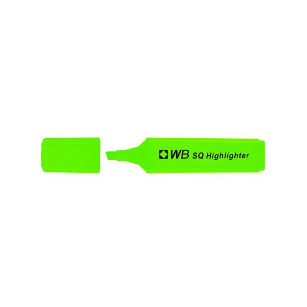Green Hi-Glo Highlighter (Pack of 10) 844004