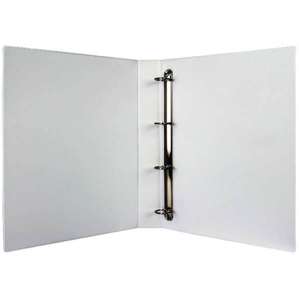 White 25mm 4D Presentation Binder (Pack of 10) WX01325