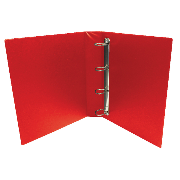 Red 25mm 4D Presentation Binder (Pack of 10) WX01326