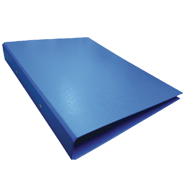 10 x Blue A4 2-Ring Ring Binder (Slim line binder with 25mm capacity) WX02003