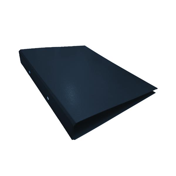 10 x Black A4 2-Ring Ring Binder (25mm capacity) WX02005