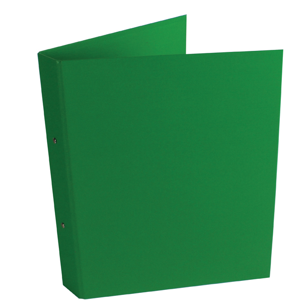 10 x Green A4 2-Ring Ring Binder (25mm capacity) WX02008
