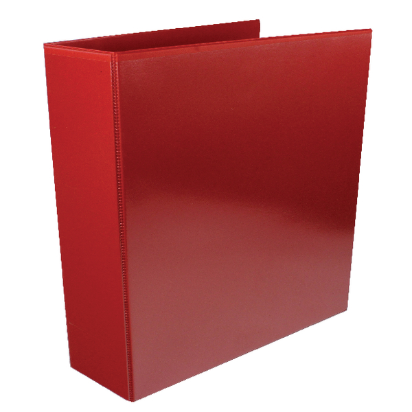 Red 65mm 4D Presentation Ring Binder (Pack of 10) WX70296