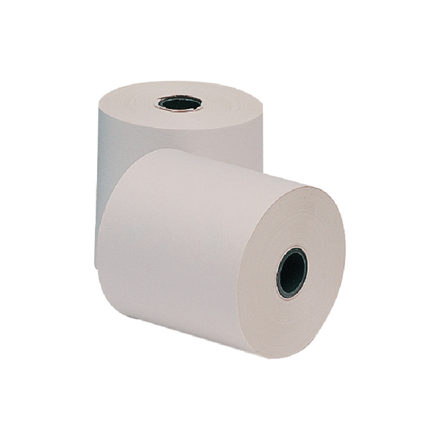White, Pink and Yellow 3-Ply Till Paper Roll 76x76mm (Pack of 20) AD3767612