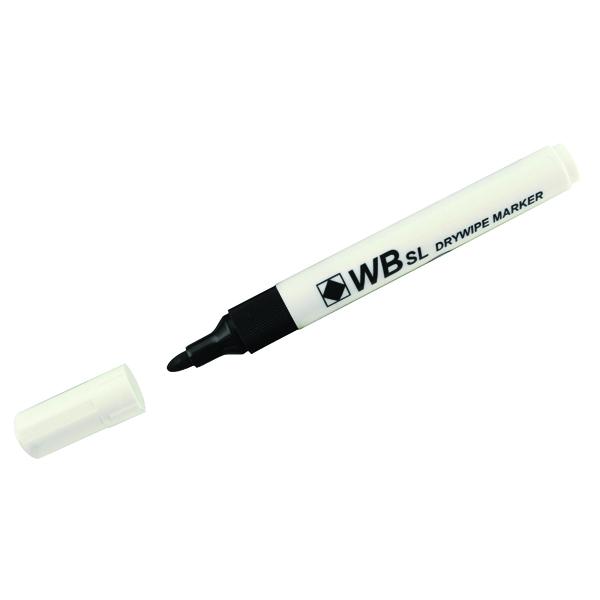 Assorted Whiteboard Marker Pens Bullet Tip (Pack of 4) 806005