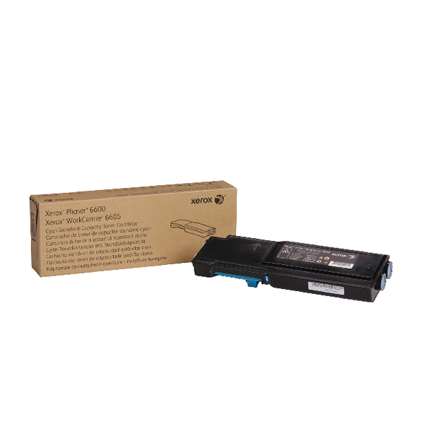 Xerox Cyan Toner Cartridge (2,000 Page Capacity) 106R02245