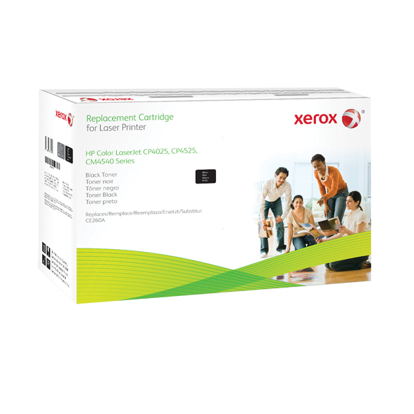 Xerox Compatible Laser Toner Cartridge Black CE260A 106R02185