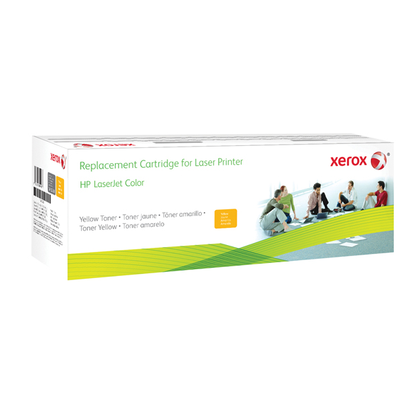 Xerox Compatible Laser Toner Cartridge Yellow CF212A 006R03184