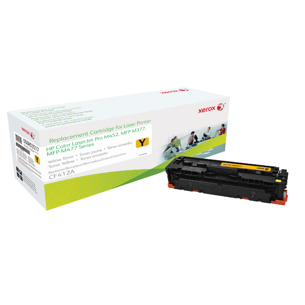 Xerox Compatible Laser Toner Yellow CF412A 006R03517