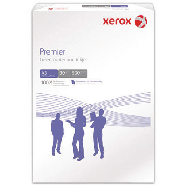 Xerox Premier A3 Paper 90gsm White Ream 003R91853 (Pack of 500)