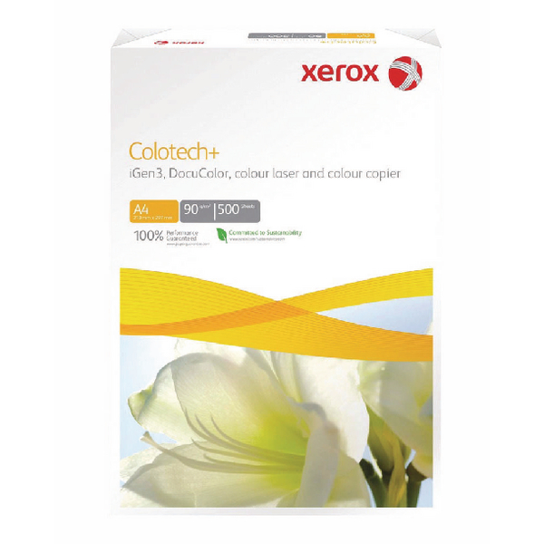 Xerox Colotech+ A3 Paper 90gsm White Ream 003R98839 (Pack of 500)