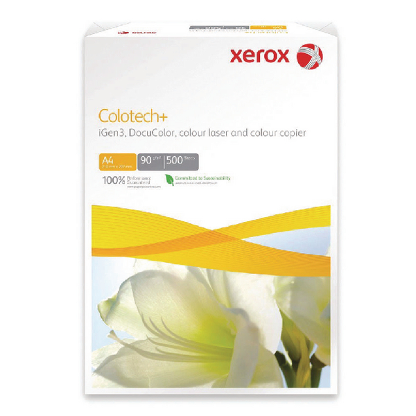 Xerox Colotech A4 White 250gsm Paper (Pack of 250) XX98975